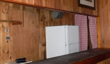 Lodge Bar Area has plenty of refrigeration for your refreshments
