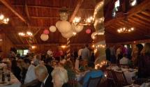 Lodge Fall wedding
