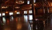Lodge Dance Floor - Lots of space to dance the night away